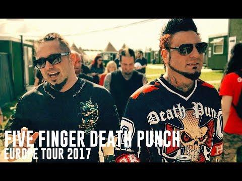 Five Finger Death Punch at Download Fest 2017