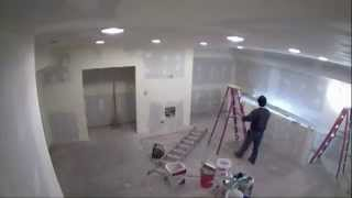 64 Second Attic Renovation Timelapse Video - South Loop Townhouse, Chicago, Il