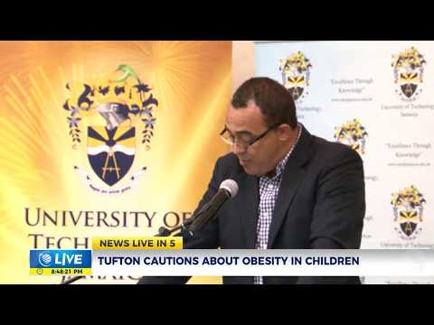 Minister Tufton cautions about Obesity in Children