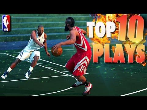 NBA 2K16 TOP 10 PARK Ankle Breakers, Posters, PutBacks & TrickShots Of The Week