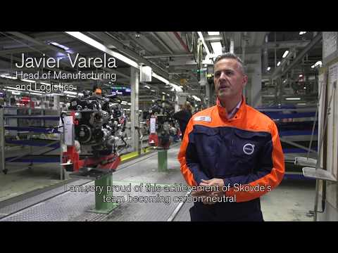 Volvo Cars' Swedish engine plant is its first climate-neutral manufacturing site