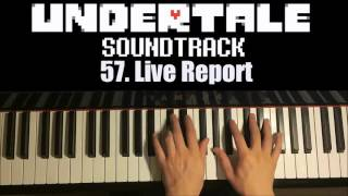 Undertale OST - 57. Live Report (Piano Cover by Amosdoll)