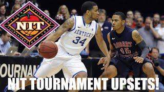 College Basketball: NIT Tournament Upsets Compilation