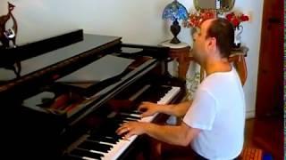 LOVE IS A MANY SPLENDORED THING lyrics/ musica americana romantica antiga famosa/ piano solo