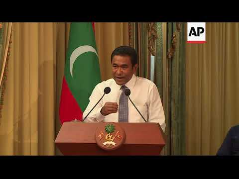 Maldives president orders state of emergency