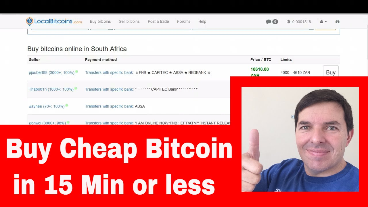 How To Buy Bitcoins In Less Than 15 Min At Localbitcoins Worldwide By Colin  Brazendale