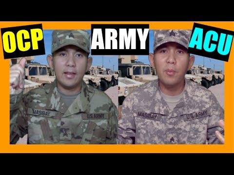 The NEW ARMY UNIFORM OCP Vs ACU!