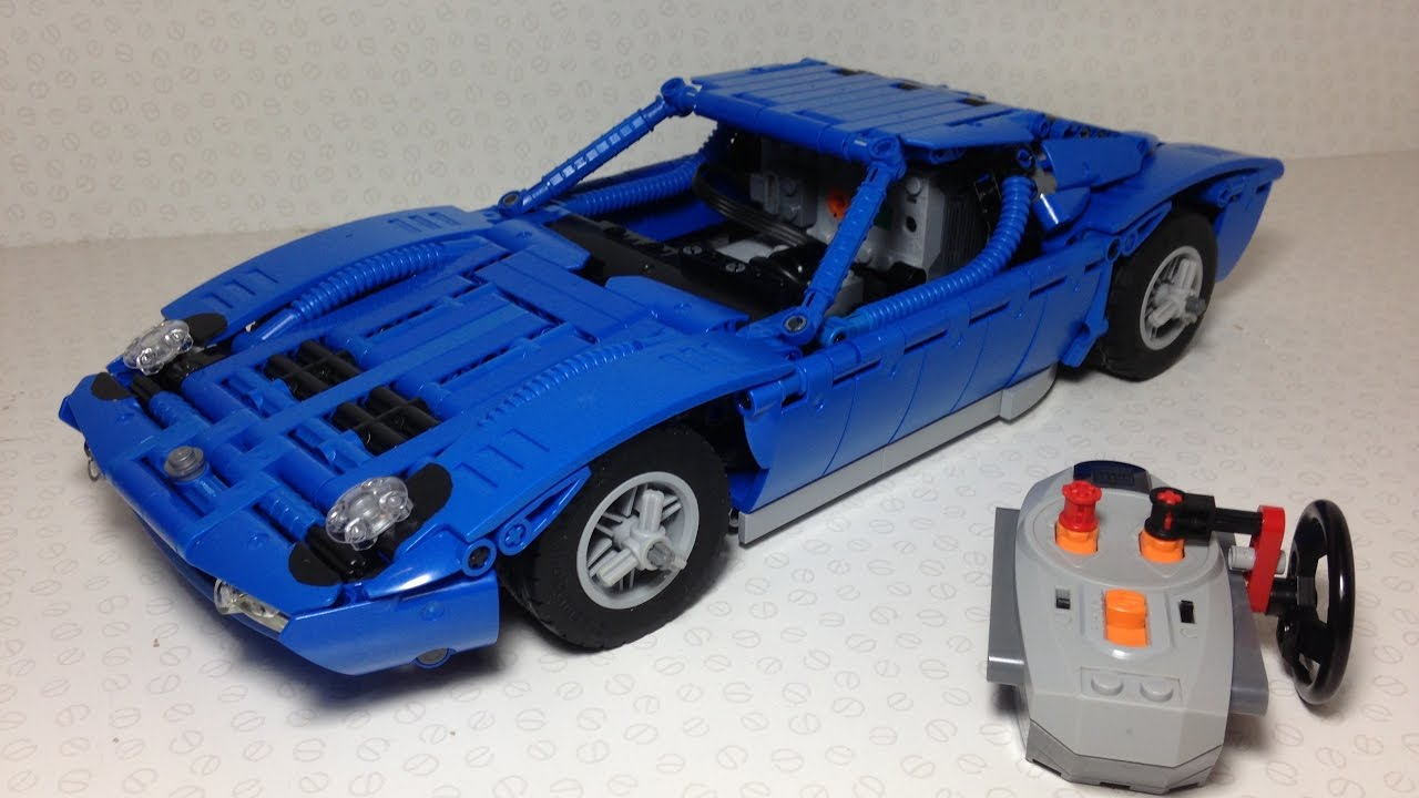 Lego Technic Lamborghini Miura Rc With Instructions Youtube