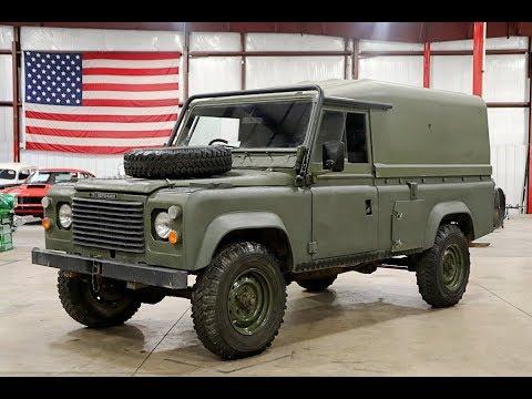 1987 Land Rover Defender 110 Green