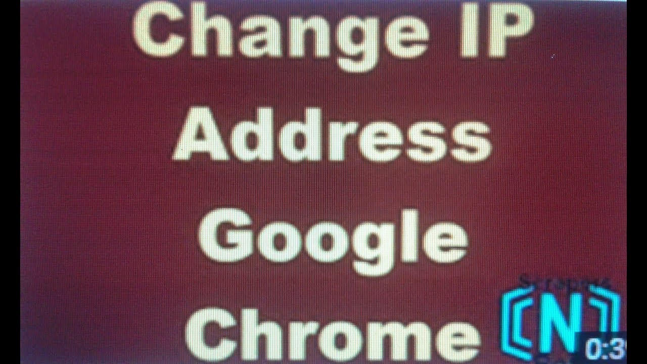 how to change ip address youtube