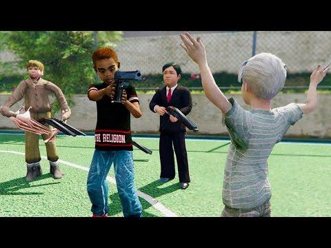 GTA 5 KIDS STOP BULLYING ME!!! (GTA 5 MODS)