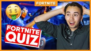 THE QUESTIONS BECOME HARDER?! -Fortnite Quiz