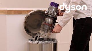 Dyson V10 コードレスクリーナー ゴミの捨て方とクリアビンのお手入れ方法 thumbnail