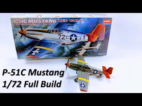P-51C Mustang  - Academy 1/72 - Full Build