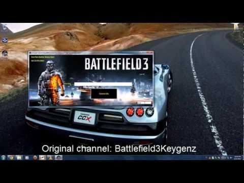 Battlefield 3 Keygen/serial Key And Crack [Working 2013]