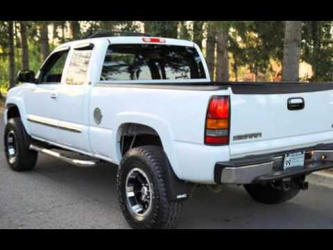 "2006 GMC Sierra 1500 SLT Extented Cab 4x4 Lifted 35"" Tires. for sale in Milwaukie, OR"