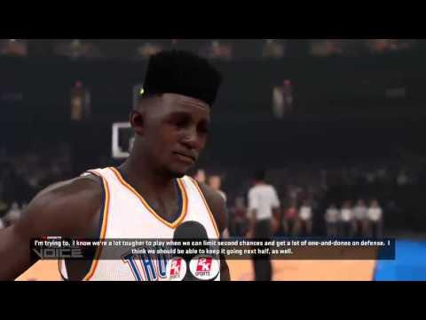 NBA 2K15 My Career King C Vs Paul George (The Phenomenal)