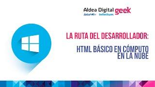 HTML Básico en cómputo en la Nube