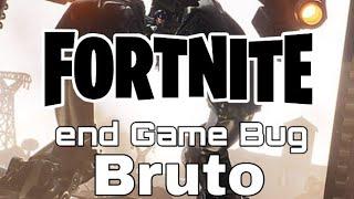 Fortnite Gross End game BUG