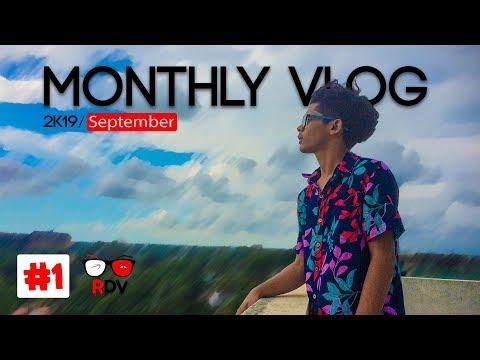 MONTHLY VLOG | 2k19 September | #1
