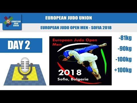 European Judo Open Men - Sofia 2018 - Day 2