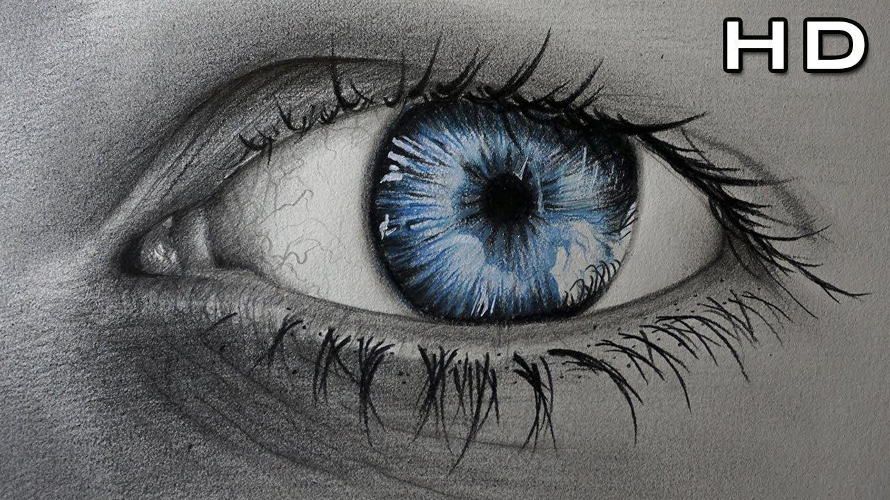 Dibujo Ojos Y Lpiz T