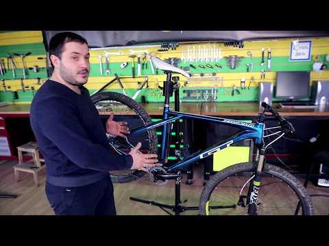 Жесткость стандартной велосипедной рамы на примере GT Zaskar