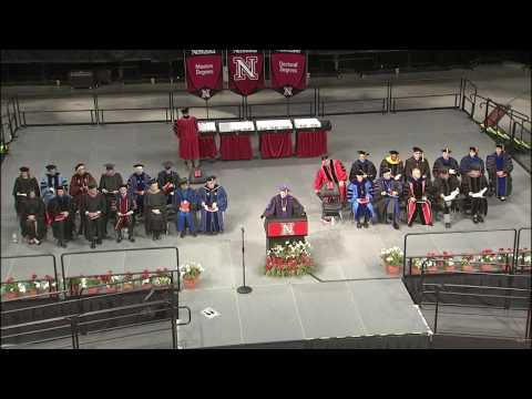 UNL May 2016 Graduate Commencement Ceremony