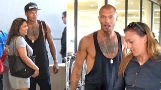 'Hot Convict' Jeremy Meeks Asked If He's 'Happily Married' After Caught Kissing Topshop Heiress
