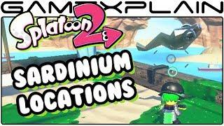 Splatoon 2 - Find All 37 Sardinium Locations - Guide & Walkthrough