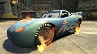 Rayo Dinoco Lightning MqQueen (GHOST RIDER MOD) HD