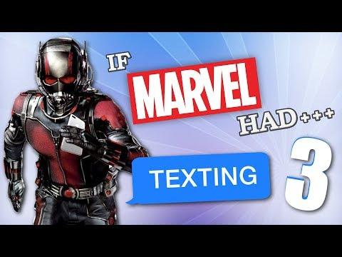 If Marvel Had Texting 3