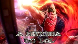 DARIUS - A HISTORIA DO LOL