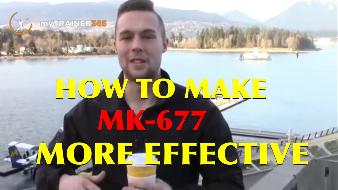 MK-677 from ENHANCED ATHLETE - How to make this product more effective more  effective