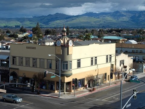 Downtown Hollister, California
