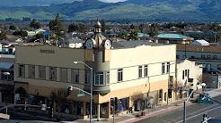 Downtown Hollister, California