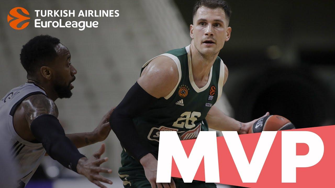 Turkish Airlines EuroLeague MVP of the Week: Nemanja Nedovic, Panathinaikos OPAP Athens