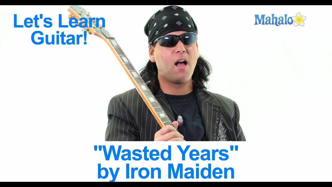 13 wasted years Wasted years / somewhere in time / iron maiden - この曲を聴け .