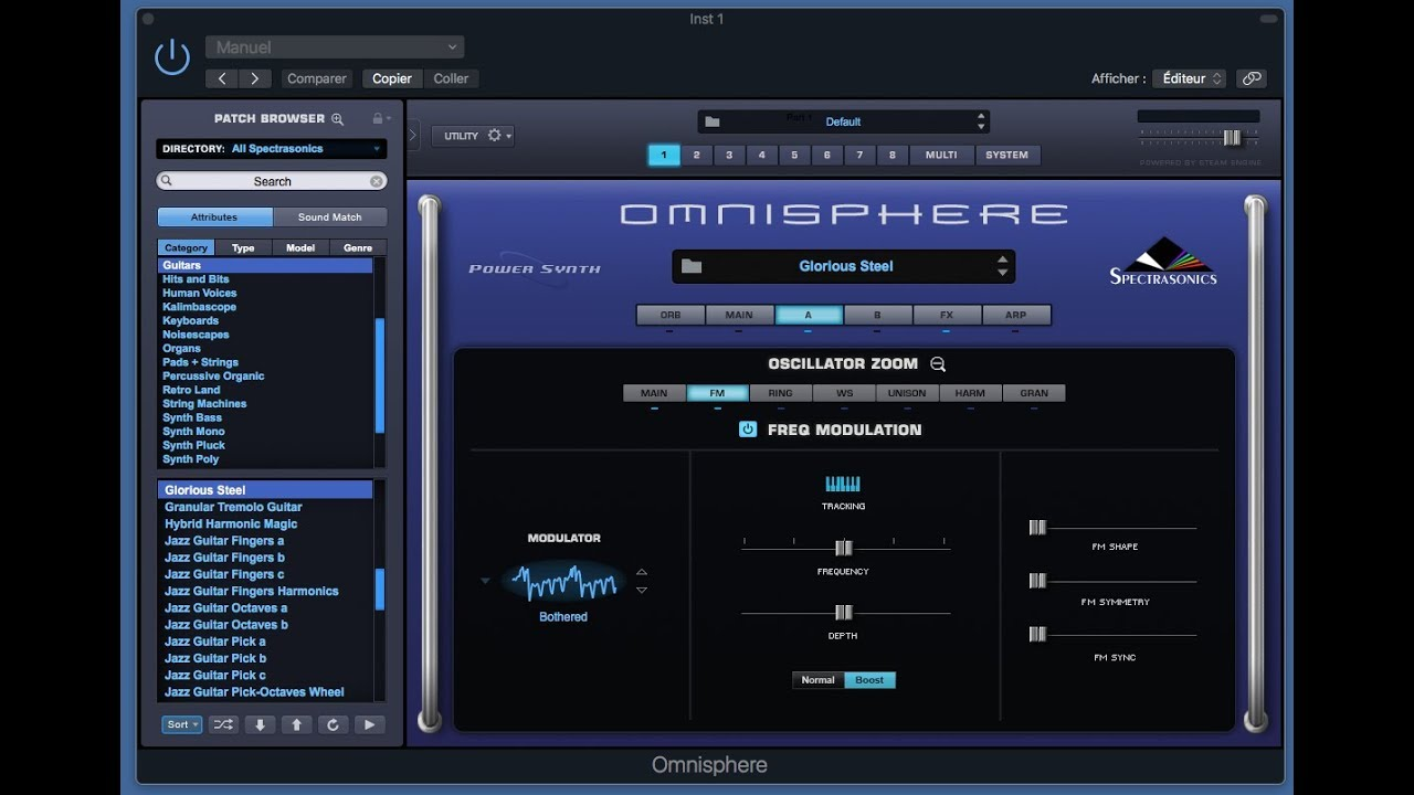 Omnisphere 2 Synthese FM Part7
