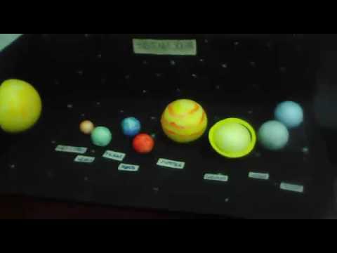 Como Fazer Maquete Do Sistema Solar Youtube