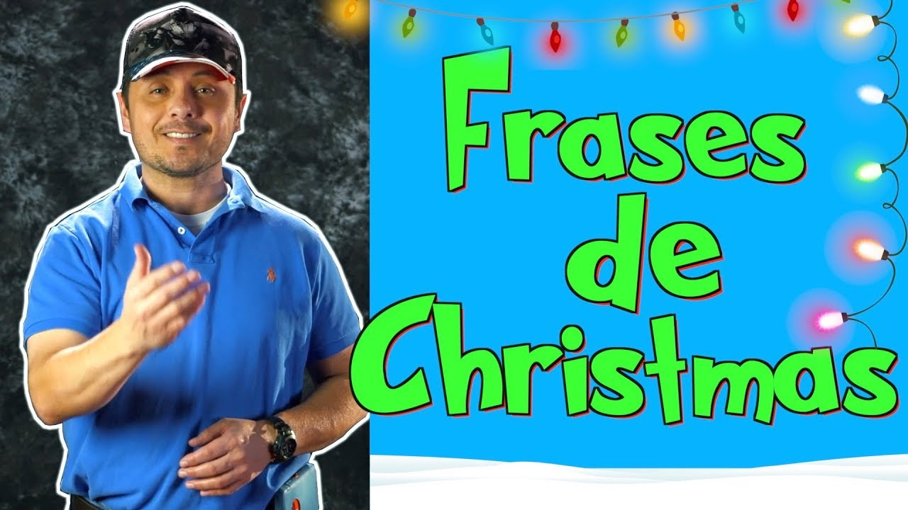 FRASES de NAVIDAD en Inglés!!! Comparte el espíritu navideño en inglés!