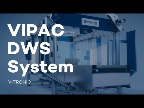 VITRONIC - VIPAC DWS System – Dimensioning, Weighing, Scanning in One System
