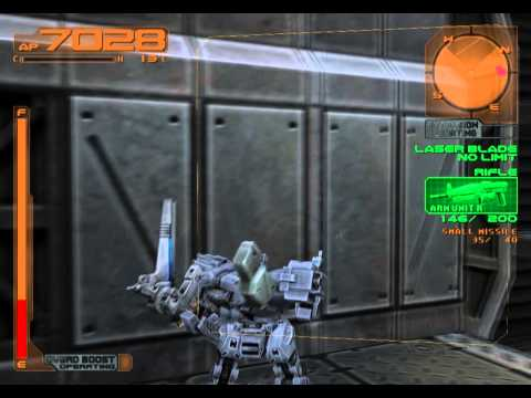Armored Core 3 Silent Line Gameplay {PS2} {HD 1080p}