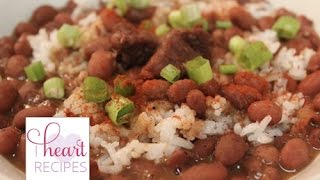 How To Cook Southern Red Beans And Rice | I Heart Recipes