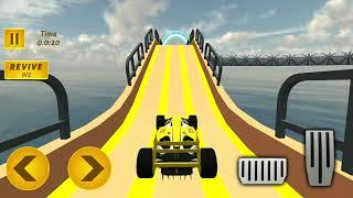 الفورمولا ميجا المنحدرة المثيرة الأعمال ، لعبة مجانية الروبوت سيارة ، لعبة ممتعة للأطفال screenshot 3