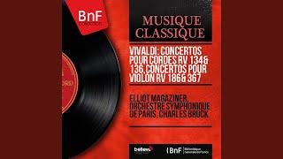 Violin Concerto in D Major, RV 186: I. Allegro