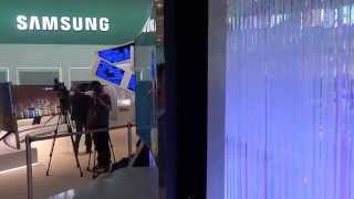 Samsung Bendable TV World's First and Largest Curved UHD 4K TV