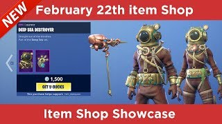 New Deep Sea DESTROYER Skin In the item Shop -Fortnite