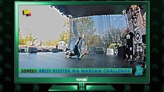 Follow The Rabbit TV S09E01: BBOY KOSTEK na WARSAW CHALLENGE