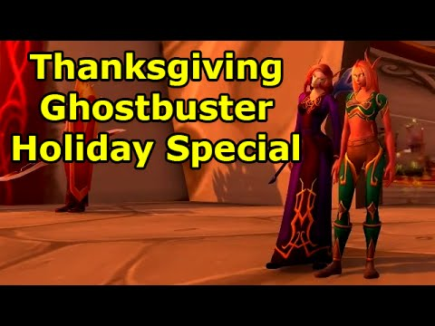 Thanksgiving Ghostbuster Holiday Special with Rob - Year 4